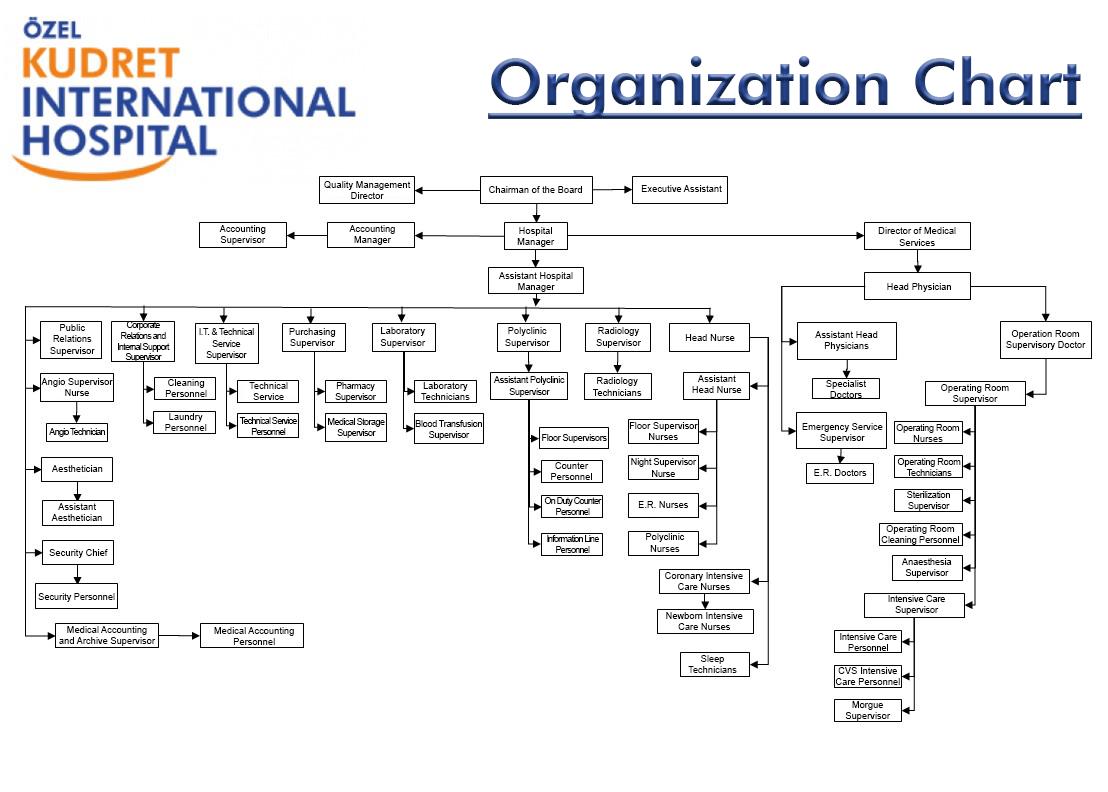 kudret-international-organization-chart